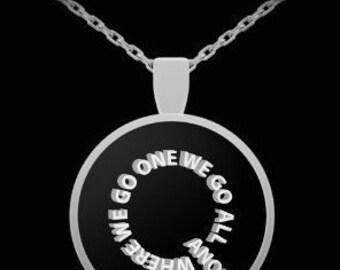Qanon WWG1WGA Necklace