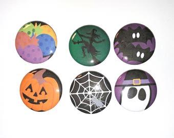1 inch Halloween Buttons