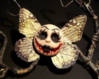 Bloody Evil Doll Butterfly - Hairclip