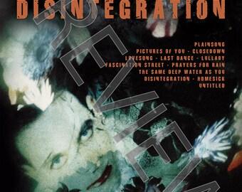 Tshirt - The Cure: Disintegration (1989)