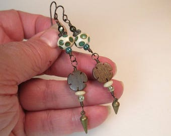 Shady Forest Earrings by Patti Cahill
