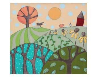 farmland print