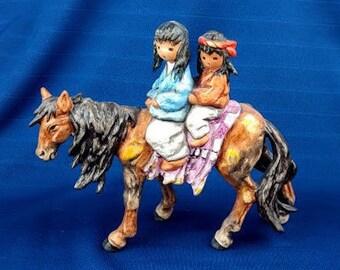 Homeward Bound De Grazia Figurine