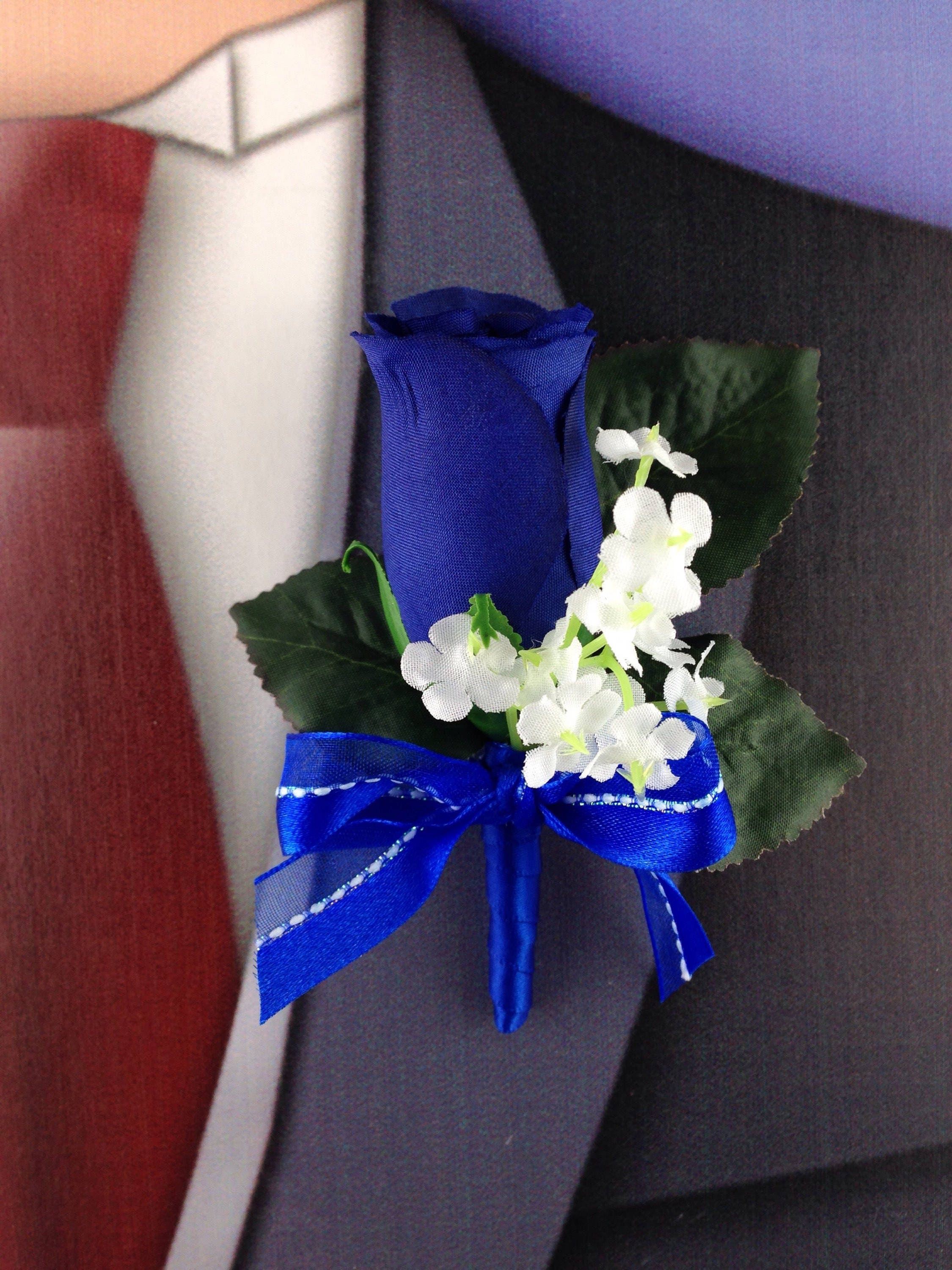 New artificial royal blue rose corsage royal rose mothers corsage royal blue bout royal prom corsage gallery photo gallery photo gallery photo gallery photo izmirmasajfo Gallery