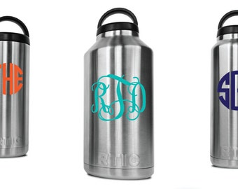 Customized RTIC Bottle - Personalized RTIC Bottle, Monogram Rtic, Rtic Bottle, Monogram Rtic Bottle