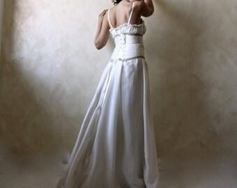 Wedding dress, bridal gown, wedding gown, medieval wedding dress, plus size gown, custom wedding dress, Aline wedding dress, ballgown dress