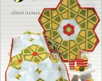 Citrus Flower pattern designed by New Leaf Stitches