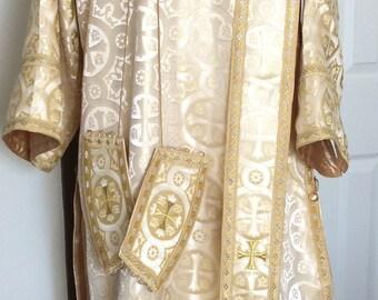 Deacon Eastern Orthodox Byzantine Vestment Set