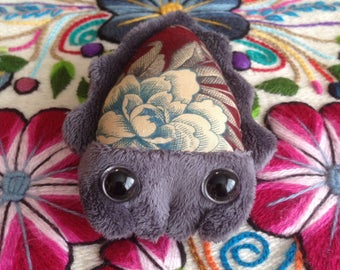 Grey Cuttlefish Plush