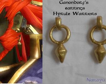 Ganondorf earrings