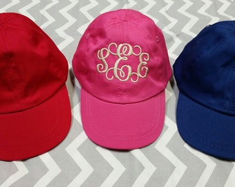Infant baseball hats,personalized infant hat, monogrammed infant hat, baby shower gifts, gifts for babies, preppy baby gifts