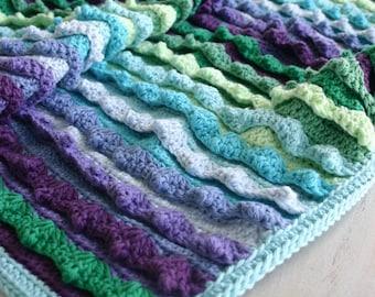 Crochet Pattern, Eventide Blanket, Baby, Afghan, Throw