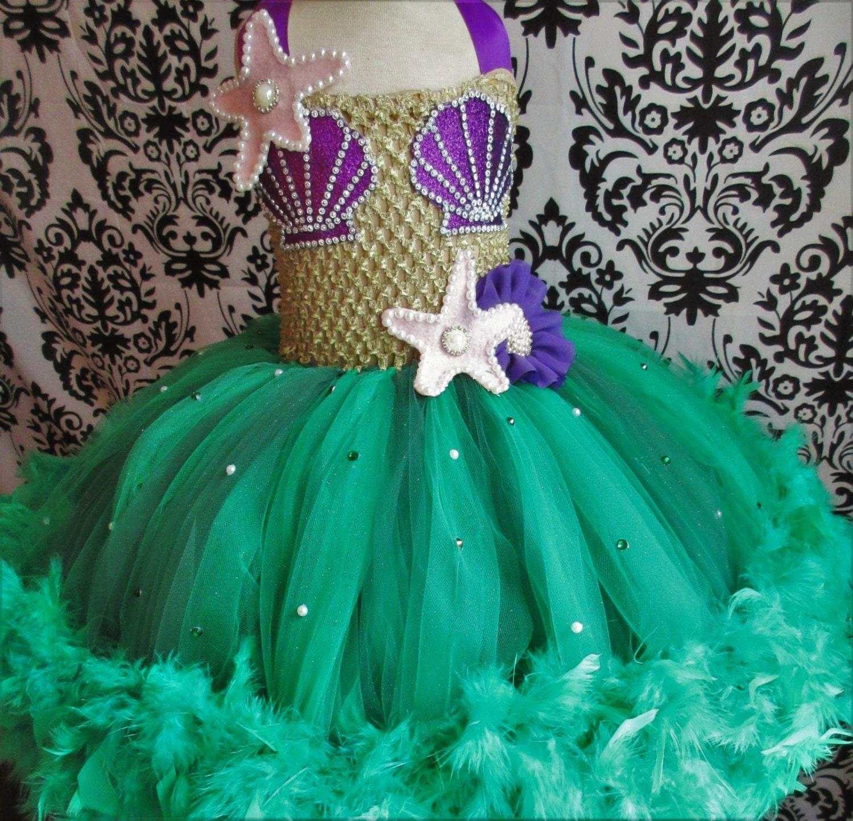 Little Mermaid Costume/Little Mermaid Dress/Mermaid
