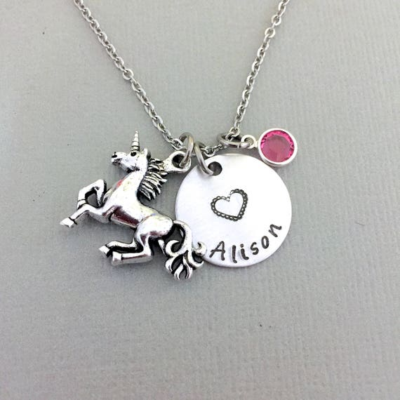 silver best me dogeared breakpoint charm unicorn sterling necklace of