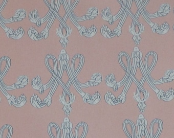 Marie Antoinette Monogram Wrapping Paper
