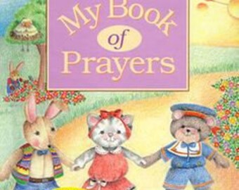 My Book of Prayers Personalized Book