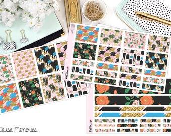 GIRLBOSS paillettes KIT papier Planner Stickers!