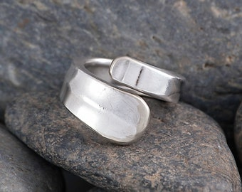 Silverware Handle Ring (Spoon Ring) Size 5 1/4 SR139