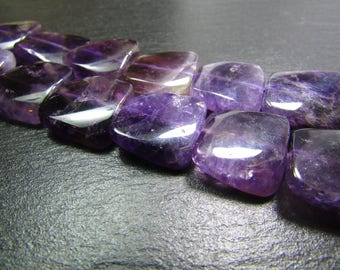 1 of amethyst square 16 mm
