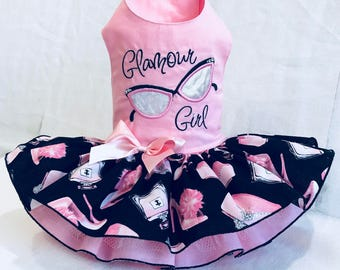 Glamour Girl Dog Dress By Little Paws Boutique