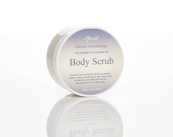 Salt Body Scrub - Essential Oil - Body Care - Gift For Her - Spa - Gift Set
