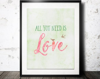All You Need is Love - 8x10