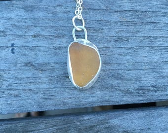 Seaglass necklace, sea glass necklace, nature inspired, gift, ocean jewelry, seaglass jewlery, sea glass jewelry, unique necklace, recycled