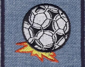 Soccer Soccer Football jeans patch appliqué patch #9225