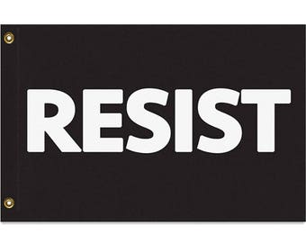 RESIST Flag, 3x2 or 5x3