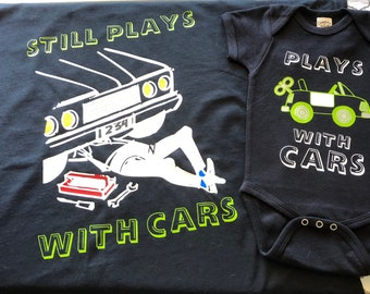 Adult and child t-shirt set
