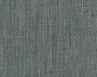 Art Gallery Teal Mint Solid Smooth Denim Cool Foliage 58 Wide DEN-S-2002 Nightfall Fabric BTY