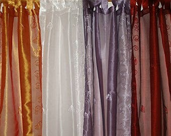 "Curtain Panels Sheer Panel Drapes 42""x84"""
