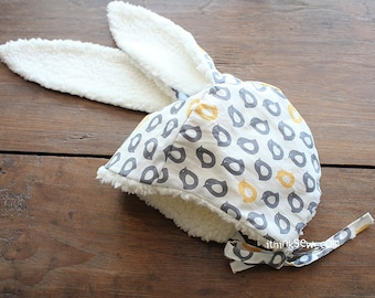 650 Rabbit Hat PDF Sewing Pattern