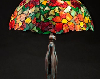 Table Lamp, Office Desk, Office Decor, Tiffany Lamp, Stained Glass Art, Stained Glass Lamp, Nightstand Decor, Bedside Lamp