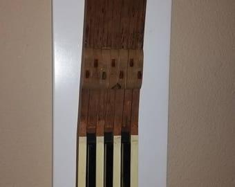 Piano Key Wall Hanging