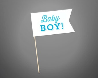 Photo Prop - Baby Boy - Baby Shower Collection