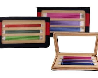 KnitPro Zing Set DPNs / Double Pointed Aluminium Knitting Needles 15cm, 20cm