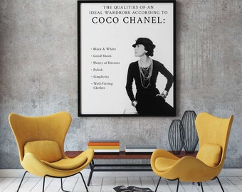 Chanel, Chanel poster, Chanel Coco Perfume poster, Chanel Perfume  print, Chanel Perfume Canvas,  Home decoration, Wall art, Wall decoration