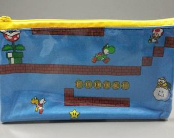 Mario Level Vinyl Pouch