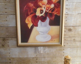 Calla Lilly Oil Painting