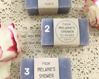 40 wedding soap favors, wedding favors, baby shower favors, Medium Soap Bars