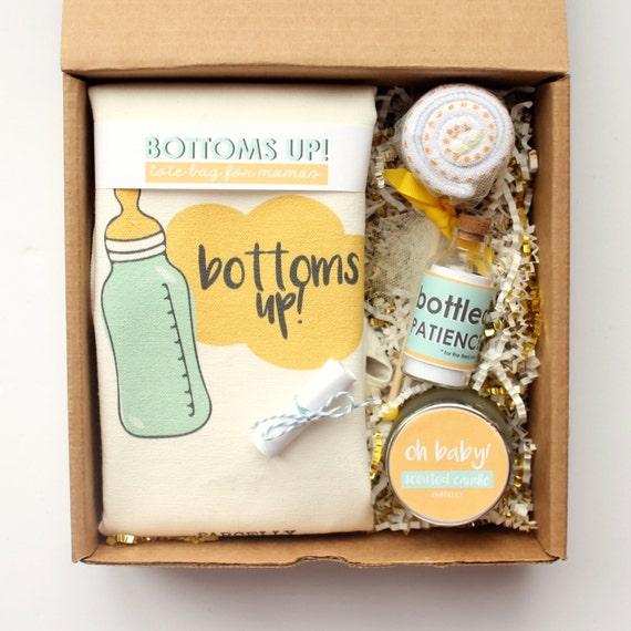Superior Baby Shower Gift Basket. Gender Neutral Baby Gift Basket. New