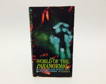 Vintage Paranormal Book The World of the Paramormal by Walter McGraw 1969 Paperback