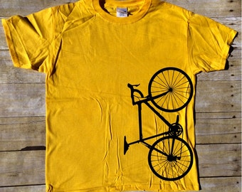 Vertical Bicycle T-shirt - Biking t-shirt - Bicycle t-shirt - Abstract bicycle t-shirt