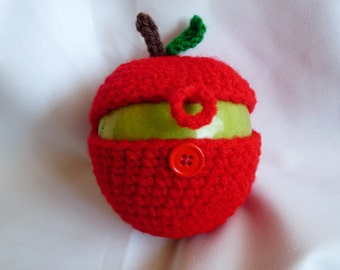 Apple cozy protector holder teacher appreciation