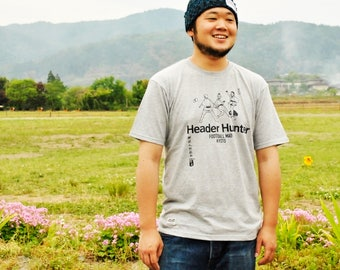T-Shirt Football Mad Kyoto-Header Hunter