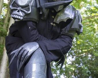MADE TO ORDER - Warhammer 40.000 Daemon costume for cosplay larp theater horror grimdark chaos undivided skull halloween talon armor Khorne