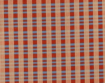 Civil War Reproduction - Softly Spoken ZD-54420-001 Plaid by Harriet Hargrave for Marcus - Red Blue Tan - 100% Premium - 15 Yards In Stock