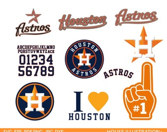 Houston astros Cut Files – Houston astros  svg – astros clipart – Houston  svg – astros baseball svg – vector files – svg, pdf png dxf