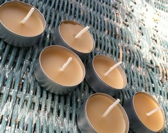 Beeswax Tea Lights c/6